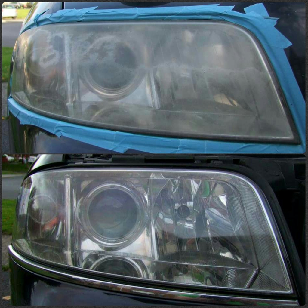 Faded headlamps are a danger and an NCT fail. Don't buy new lamps get them restored and save money along the way.