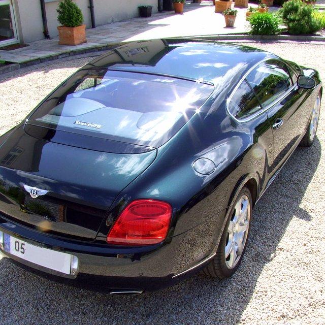 Bentley Continental GT Detail.