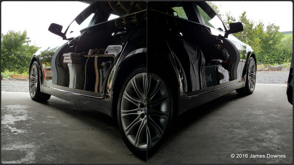 BMW (E60) 5 Series gloss enhancement detail, detailing,valeting, limerick,cork clare, kerry