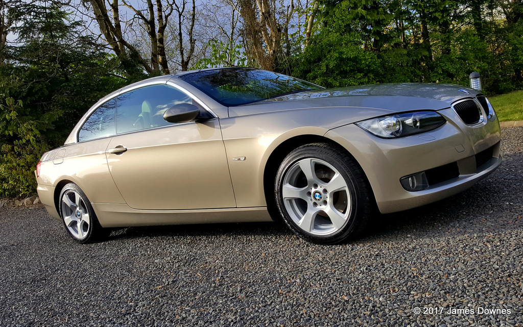 BMW 320I Cabriolet exterior & interior detail Protection detail, detailing,valeting, limerick,cork clare, kerry